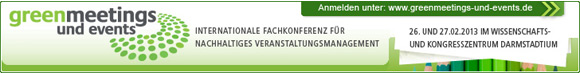 greenmeetings und events 2013