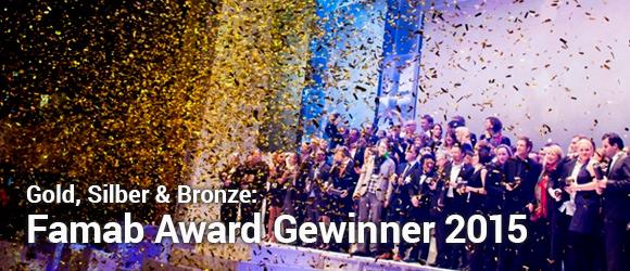 Famab Award Gewinner 2015